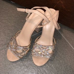 Newlook Blush Pink Block Heels